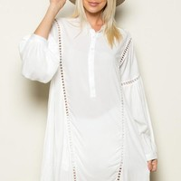 LONG SLEEVE TUNIC SHIRTS