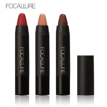 Focallure 19 Colors Matte Lipstick Lip Gloss Travel Set Waterproof Lip Color High Quality Lips Long Lasting Makeup