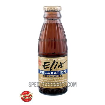 Elix Relaxation with Chamomile 100ml Glass Bottle