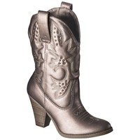Women's Mossimo Supply Co. Kala Heeled Western Boot with Studs