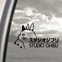 Totoro Studio Ghibli Decal ,Car,Laptop,Window