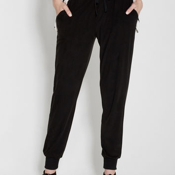 ultra soft jogger pants in black | maurices