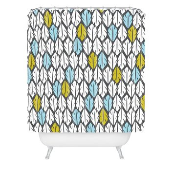 Heather Dutton Foliar Shower Curtain
