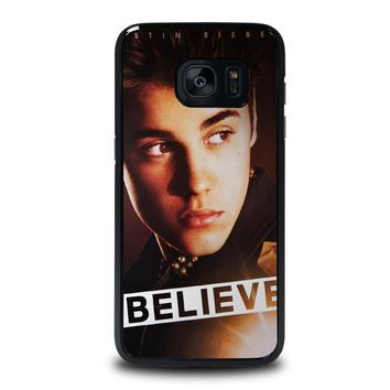 justin bieber samsung galaxy s7 edge case cover  number 1