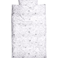 H&M - Duvet Cover Set - White