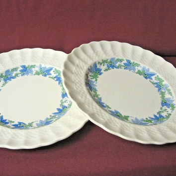 Copeland Spode England #Valencia Pattern #S/1248 set 2 small bread plate