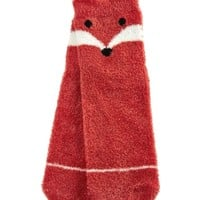 Shea-Infused Lounge Socks Fox