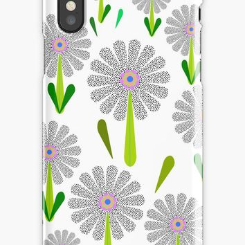 'zappwaits Blume' iPhone-Hülle & Cover by zappwaits
