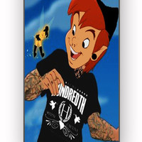Peter Pan and Tinkerbell With Tattoo for iPhone 4/4S Case *