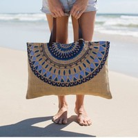 The Beach People - Jute Beach Bag | Majorelle