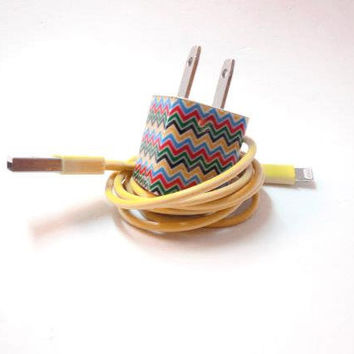 iPhone 5 Charger Decorated with Personality by PersonalPower