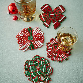 Bow Coasters, Set of 4 - Kim Seybert