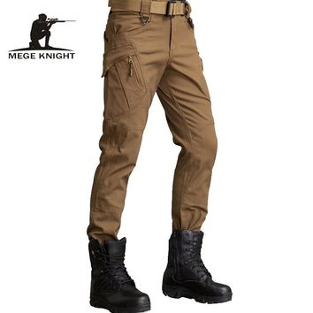 MEGE Military Army IX9 Pants Tactical Combat SWAT Train Cargo Pants Paintball Trouser Overalls Mens' Urban Causal Clothing