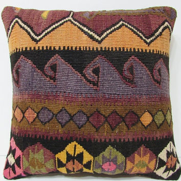 "shabby chic furniture pillow 18"" seat pillow urban fabric decorative sofa pillow lake house decor ethnic cushion cover area rug pillow 20834"