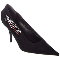 Balenciaga Logo Knife Pump, 38, Black