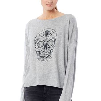 Skull Cashmere Dixie Grey