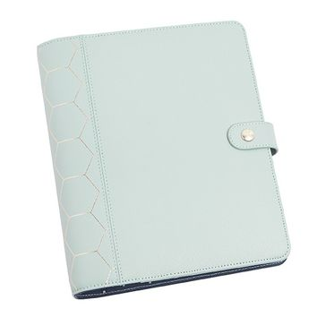 LEATHER PERSONAL PLANNER LARGE: DARK MINT - Time Planner - Planners - Notebooks & Journals