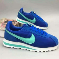 """NIKE"" Fashionable Personality Casual Blue Sneakers Elevator Shoes"