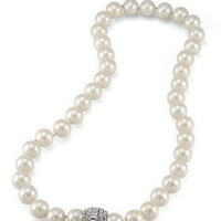 Carolee Large Faux-Pearl Necklace