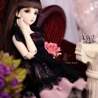 Free shipping 1/4 ( 42cm ) 5 colours skin resin Blue Berry AE bjd doll real ( include eyes and makeup)-in Dolls from Toys & Hobbies on Aliexpress.com   Alibaba Group