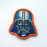 Darth Vader Embroidered Patch - Star Wars Badge Brooch Applique