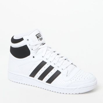 White Top Ten High-Top Sneakers - Womens Shoes - White