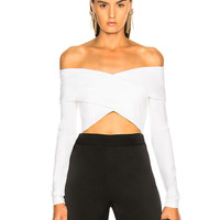 Cushnie et Ochs Issa Top in White | FWRD