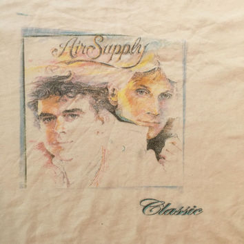 Vintage Air Supply Band Tshirt