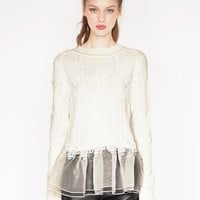 organza sweater - Shop the latest Fashion Trends