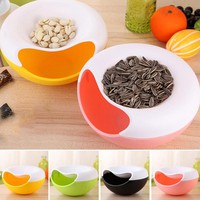 2017 New Melon Seeds nut bowl Table Candy Snacks Dry Fruit Holder Storage Box Plate Dish Tray  A45