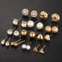 12 Piece Festive Earring Set