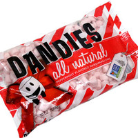 Peppermint Dandies Minis Non-GMO Air-Puffed Vegan Marshmallows by Chicago Vegan Foods – VeganEssentials Online Store