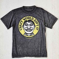 John Van Hamersveld Crazy World Tee- Black