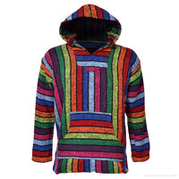 Sugaree Striped Baja Hoodie on Sale for $19.99 at The Hippie Shop