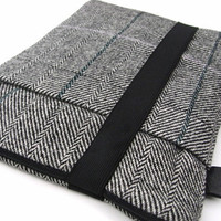 Ipad Case / Ipad 1 & 2 Cover / Sleeve / Harris Wool by pomella