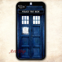 Dr Who Tardis iphone case,iphone case --  iPhone 4 Case, iphone 4s case , iphone case