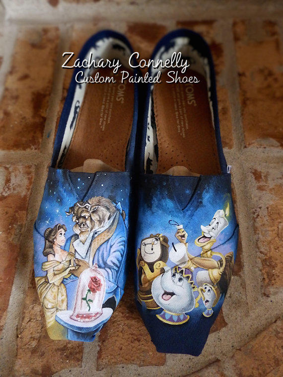 Disney S Beauty And The Beast Toms From Zacharyconnellyart