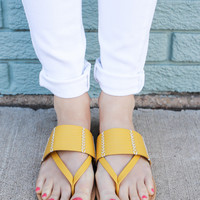 Sunshine State Sandals - Sunflower