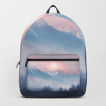 Pastel vibes 11 Backpacks by Viviana Gonzalez