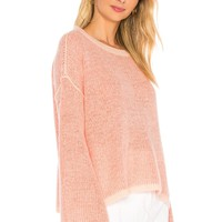 Splendid Freeboard Sweater in Heather Sugar Pink | REVOLVE