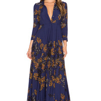 Free People After The Storm Dress in Marine Combo