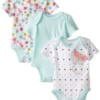 Best Beginnings Baby-Girls Newborn Butterfly Multi Color Bodysuit