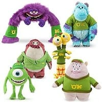 Disney Monsters University OK Plush Collection | Disney Store