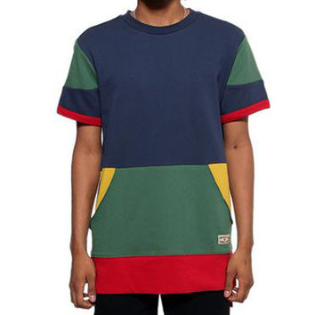 Entree LS 1990s Cut And Sewn Color Panel S/S Sweatshirt - 4 Left!