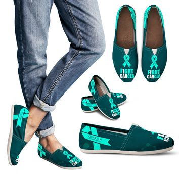 Ovarian Cancer Awareness Women's Casual Shoes
