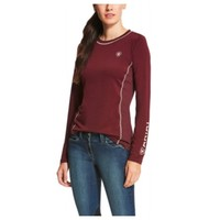 Ariat Malbec Cambria Logo Long Sleeve