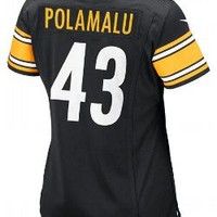 Pittsburgh Steelers Nike Women's Troy Polamalu Replica Home Jersey - Official Online Store