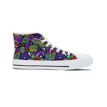 All That & A Bag of Chips - High Top Canvas Shoes