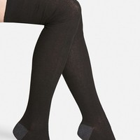 Women's Free People 'Greenwich' Thigh High Socks