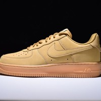 "Originals Nike Air Force One 1 High Low LV8 ""FLAX"" '07 888853-200"